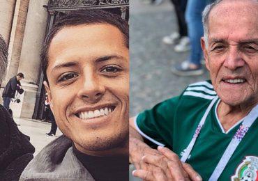 Chicharito despidió a su abuelo