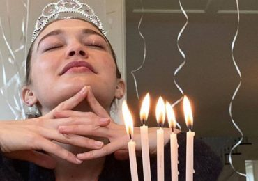 Gigi Hadid cebra cumpleaños con Zayn Malik