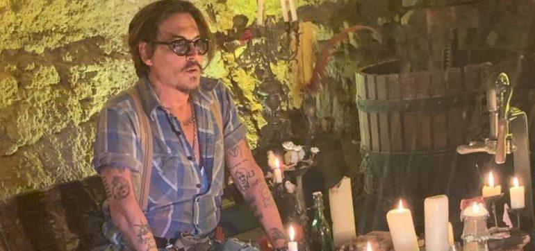Johnny Depp abre su cuenta en Instagram