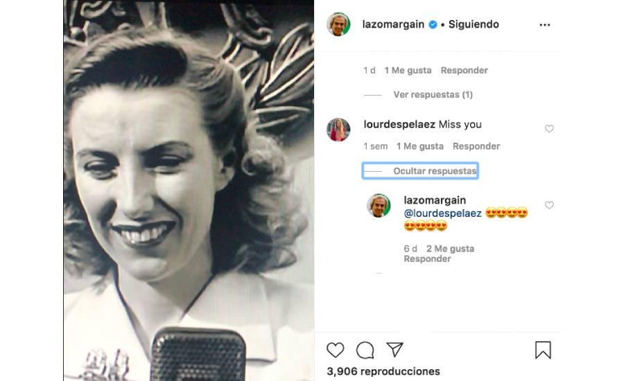 Instagram Lorenzo Lazo Lourdes Pelaez empresario