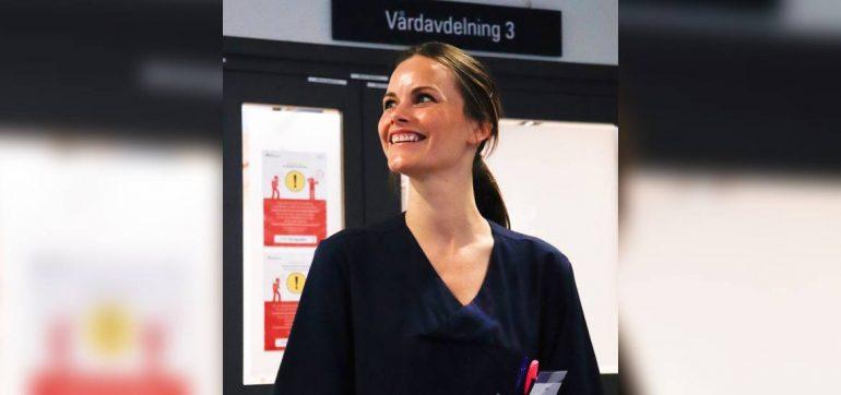 La princesa Sofía de Suecia se une a la lucha contra el coronavirus