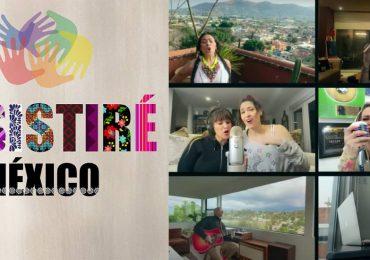 FAmosos mexicanos cantan Resistiré