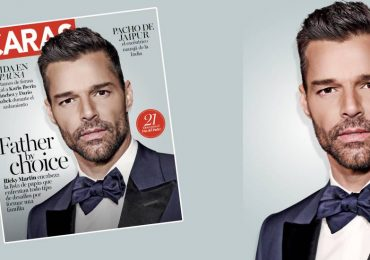 Ricky MArtin en portada de CARas México