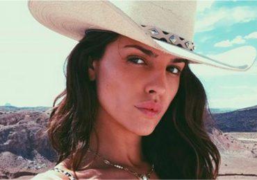 Eiza Gonzales recibe criticas usar mal cubrebocas