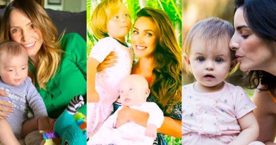 Famosas celebran el Día de las madres