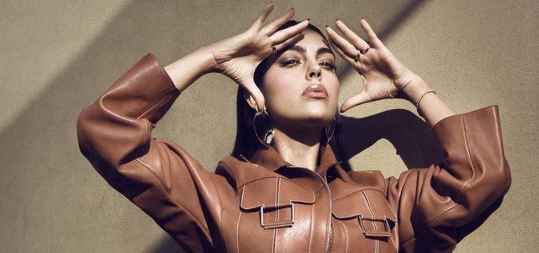 Georgina Rodríguez luce sexy en cuarentena