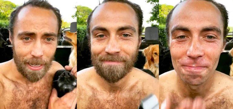 Hermano de Kate Middleton se quita la barba