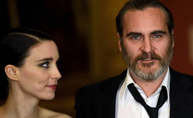 Joaquín Phoenix y Rooney Mara esperan su primer hijo