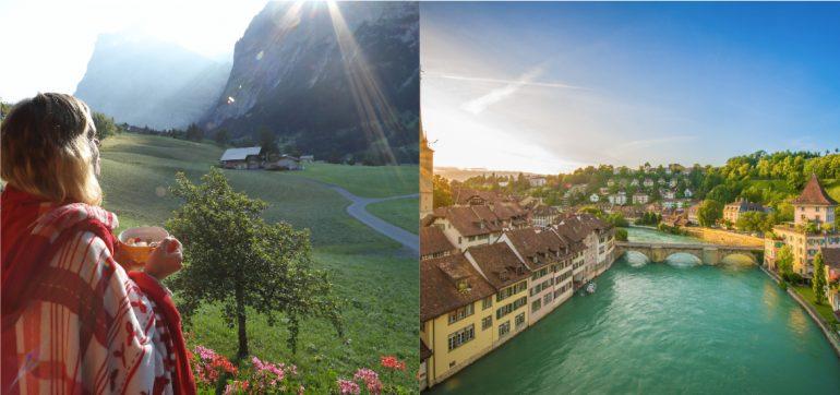 Suiza paga 70000 dolares mudarte aldea