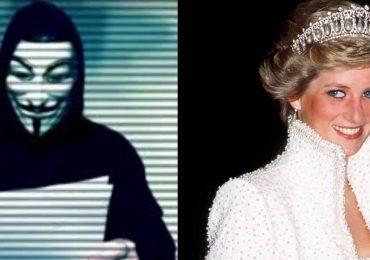 Anonymous revela que Lady Di fue asesinada por la familia real británica