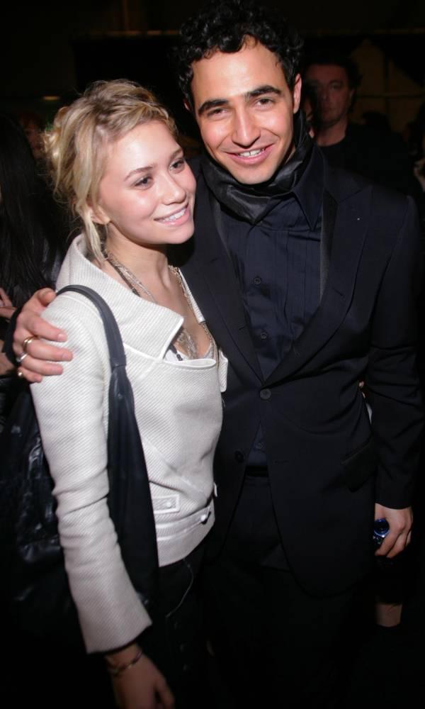 Ashley Olsen junto a Zac Posen