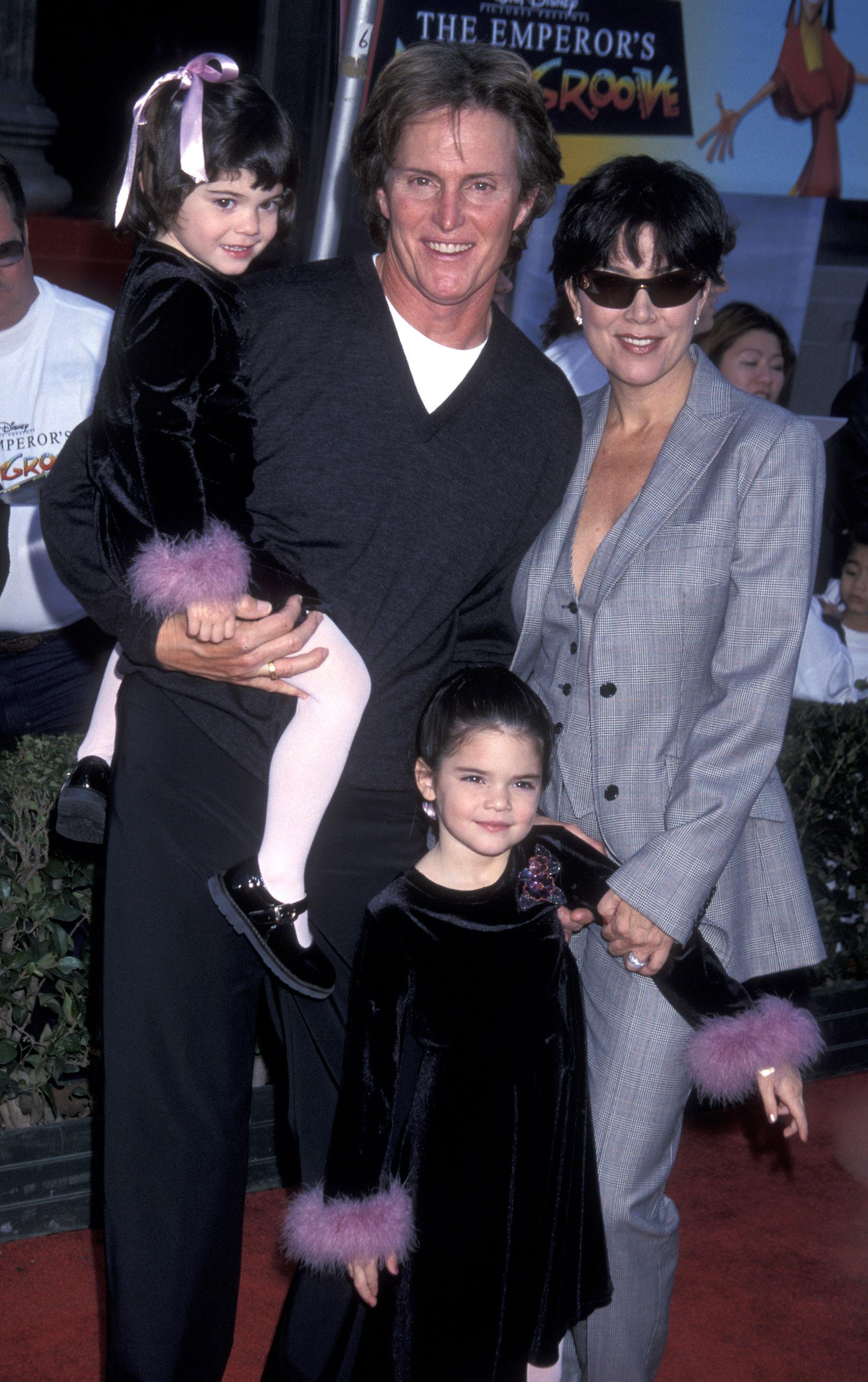 Día Kendall Jenner descubrió papá vestido mujer