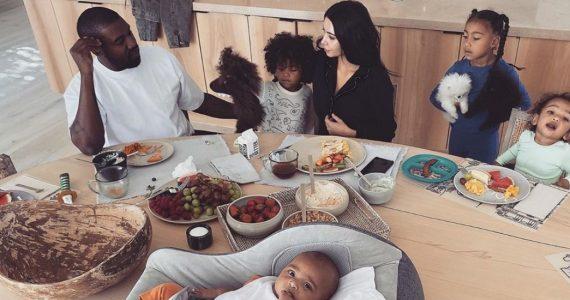 dieta hijos kim kardashian polemica redes