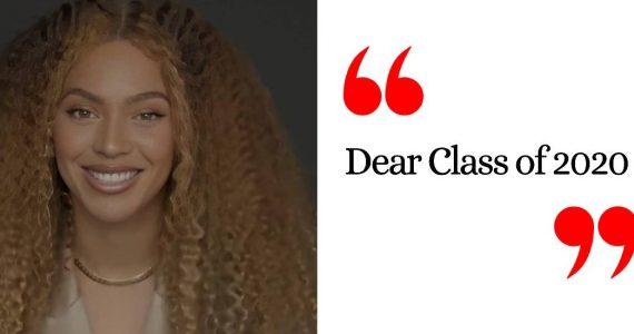 El poderoso discurso de Beyoncé a la calse 2020