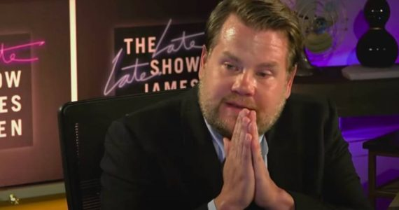 James Corden llora en pleno programa