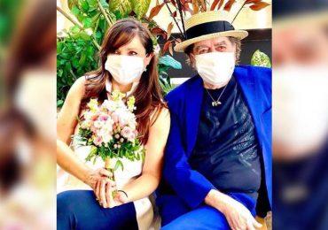 Joaquín Sabina se casó con su pareja desde hace 25 años