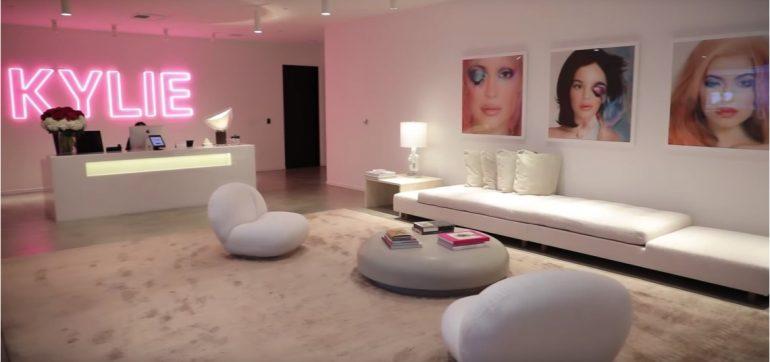 Lujosas instalaciones Kylie Cosmetics
