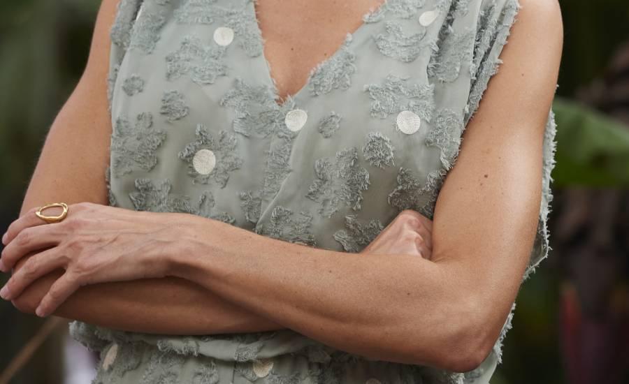 Reina Letizia y sus tonificados brazos
