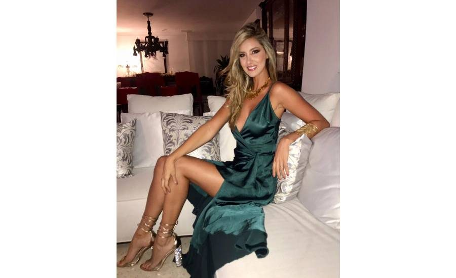 ex Miss colombia se amputa el pie izquierdo