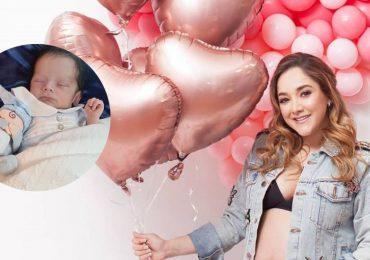 Sherlyn presenta a su bebé