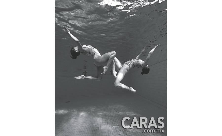 Nuria Diosdado y Joana Jiménez: respiro bajo el agua