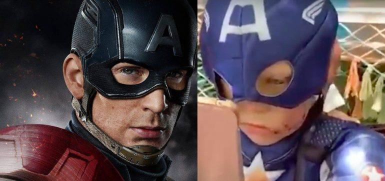 El Avengers Chris Evans mandará escudo a niño que salvo a su hermana