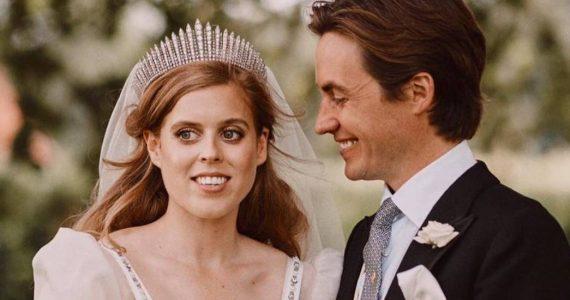 La boda de la princesa Beatriz en Fotos