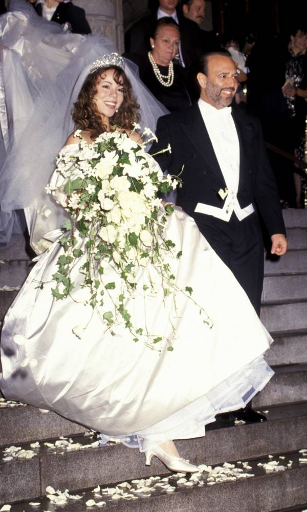 Mariah Carey y su boda con Tommy Mottola