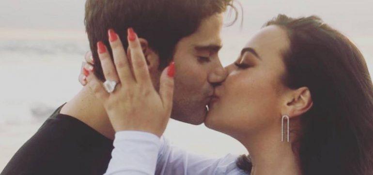 Demi Lovato está comprometida