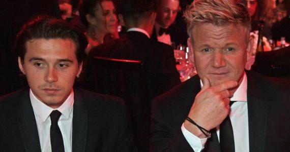 El chef gordon ramsay hará banquete de bodas a Beckham