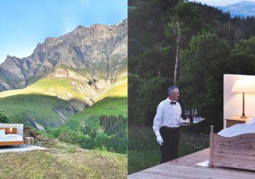 hotel sin techo alpes suizos