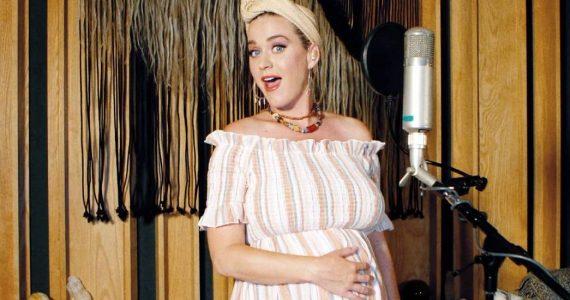 Katy Perry a dias de debutar como madre