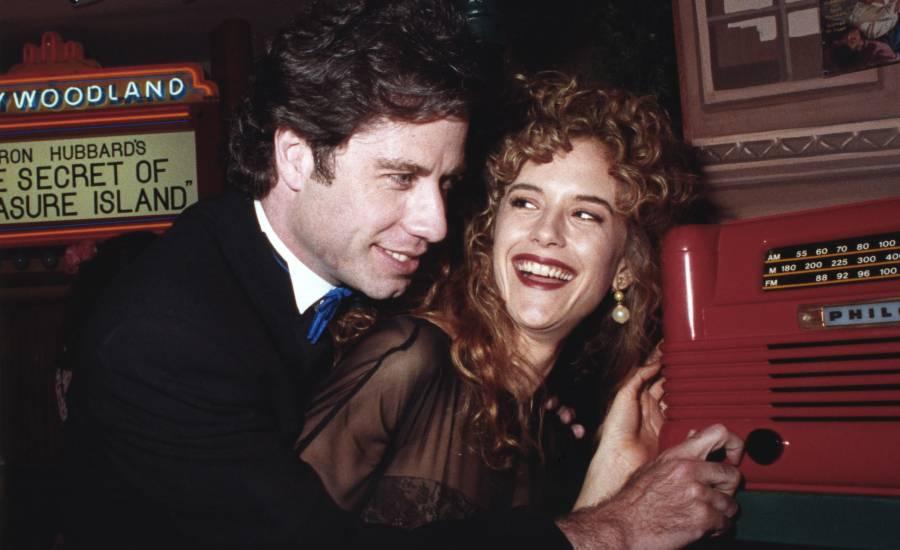 Historia de amor de Kelly Preston y John Travolta