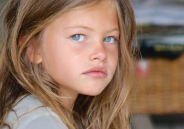asi luce thylane blondeau 19 años