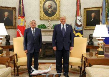 AMLO visita a Trump en la Casa Blanca
