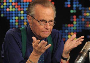 Larry King llora la muerte de sus hijos