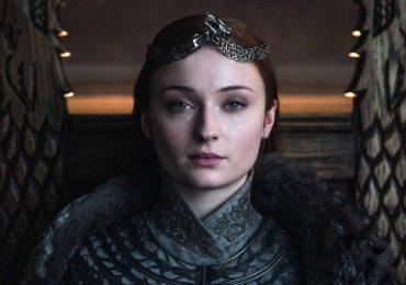 Sophie Turner tiene su trono de Game of Thrones
