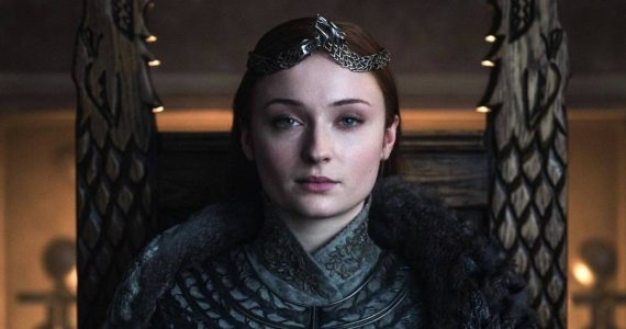 Sophie Turner tiene su trono de Game of Thrones