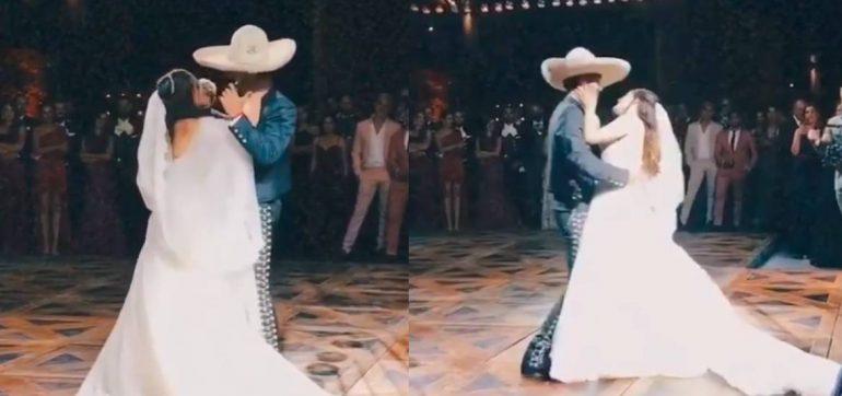 Las primeras FOTOS de la boda de Camila, la hija de Alejandro Fernández