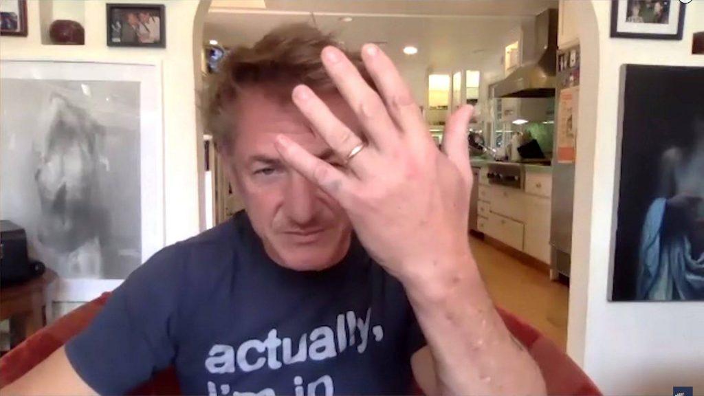 Sean Penn se casó en secreto