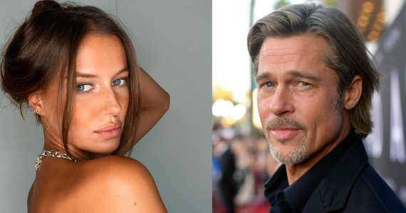 Brad Pitt novia