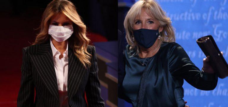Melania Trump vs Jill Biden