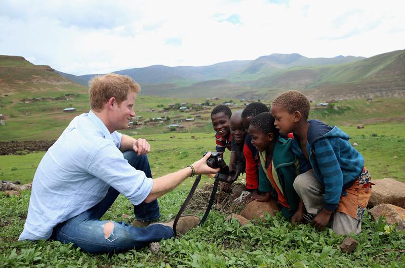 Harry en Lesotho