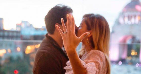 Karla Díaz está comprometida