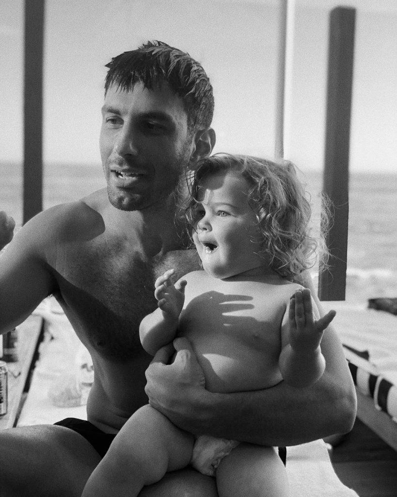 Lucía la hija de Ricky Martin