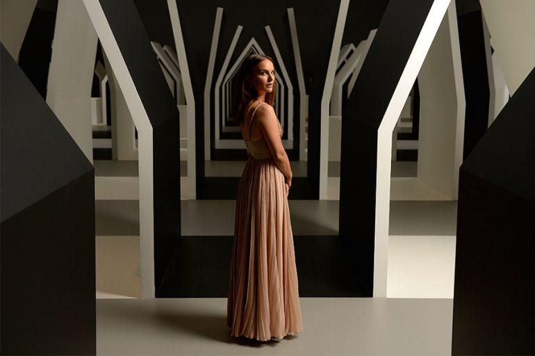 Natalie Portman como la diosa del trueno
