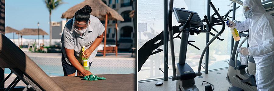 los protocolos preventivos en los hoteles