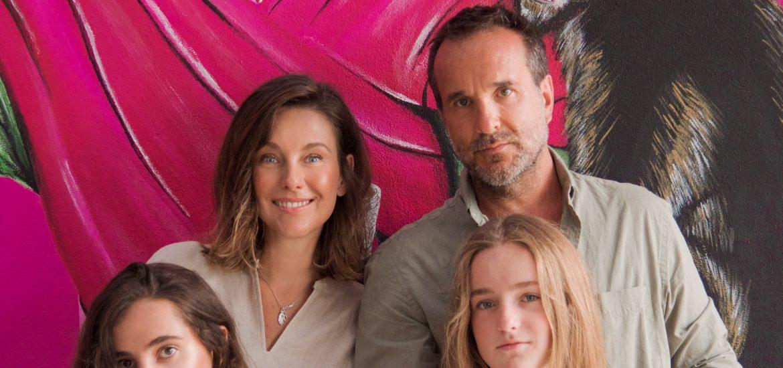 La actriz DominikaPaleta pudo disfrutar de Los Cabos en compañía de su familia, su esposo Fabián Ibarra y sus hijas María y Aitana.