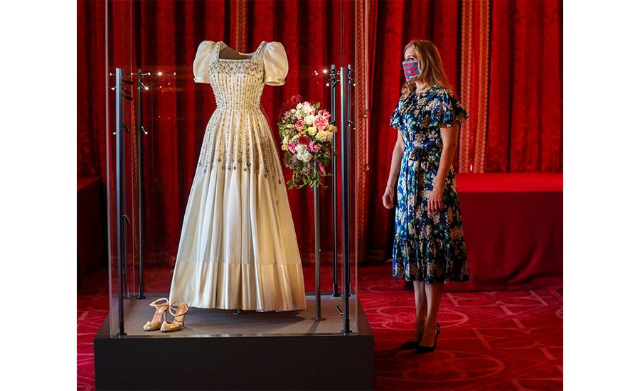 vestido de novia de Princesa Beatriz