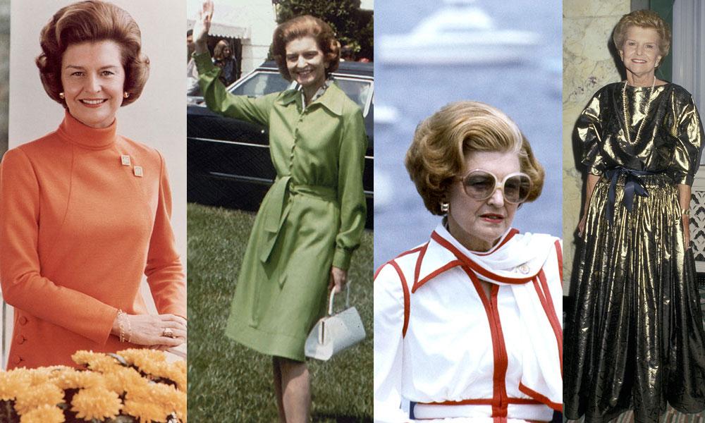 El estilo de Betty Ford